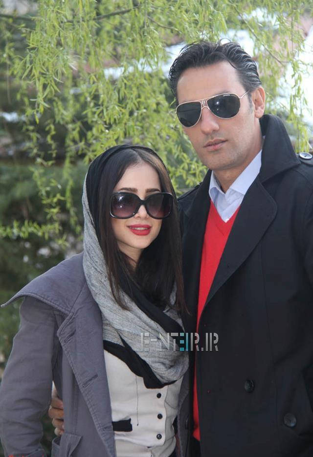 الناز حبیبی و همسر سابقش