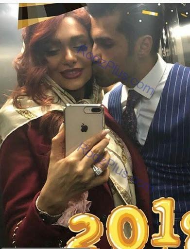 عاشقانه+های+محسن+فروزان+و+همسرش+در+آسانسور