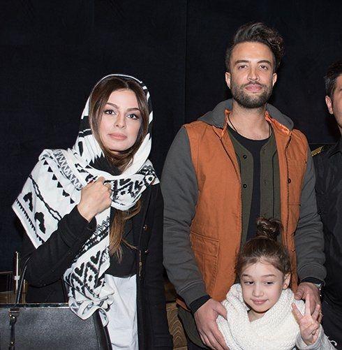 بنیامین و همسر دومش به همراه بارانا
