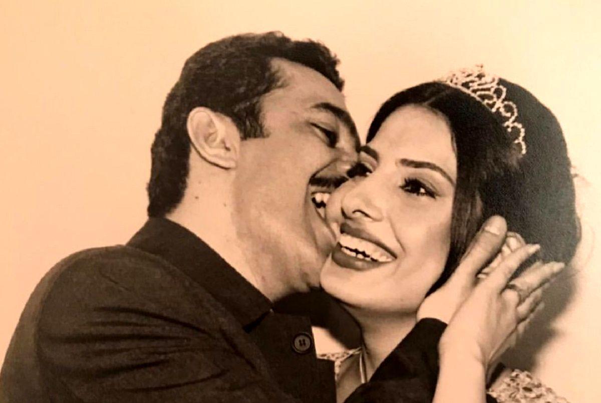 عکس عروسی آیدا کیخایی در آغوش همسرش اینستاگرام را ترکاند!
