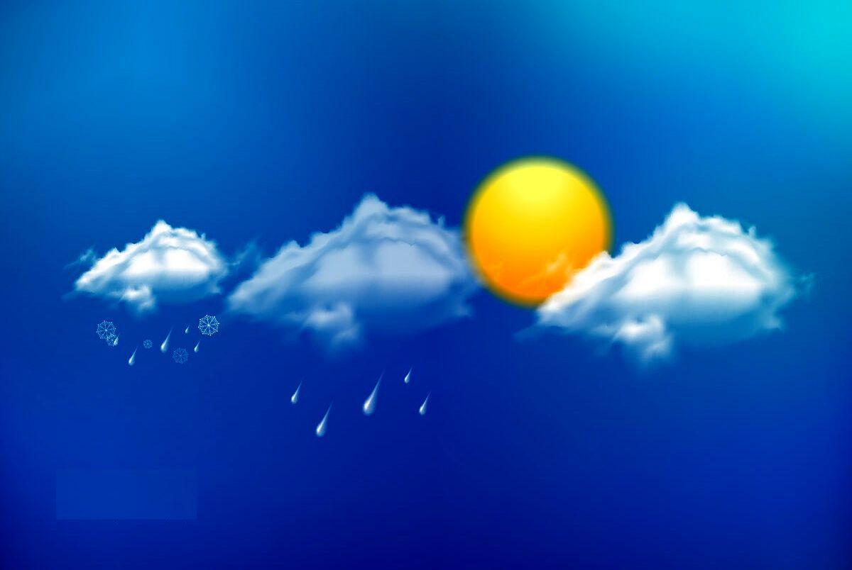 پیش بینی هواشناسی امروز سه شنبه 17 فروردین/ورود سامانه بارشی جدید