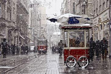 جاهای دیدنی ترکیه در زمستان