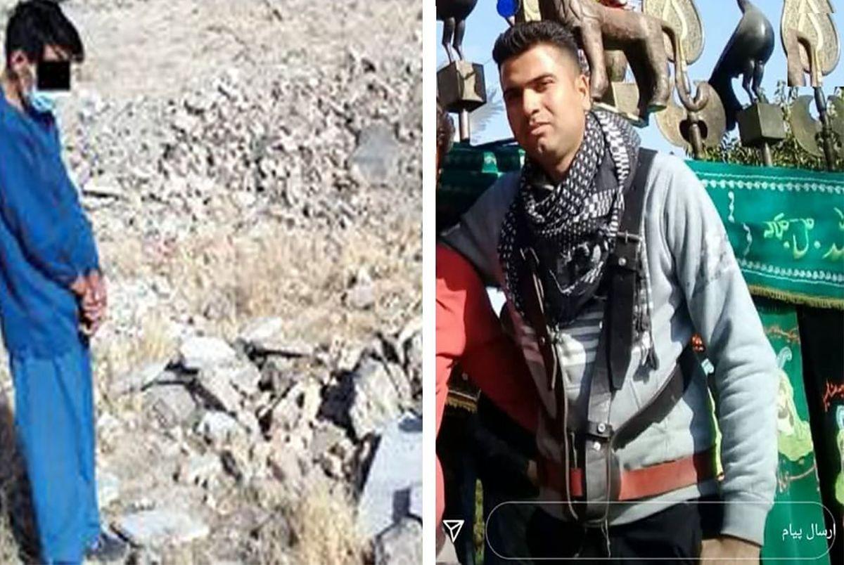 آتش زدن جنازه جوان خوش تیپ در بیابان کلات+فیلم گفتگو با قاتل