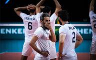 ترکیب تیم ملی والیبال ایران مقابل اسلوونی