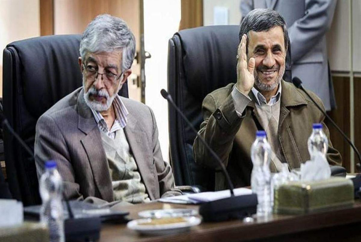 حمله تند محمود احمدی نژاد علیه حداد عادل + ویدیو