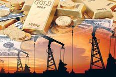افزایش قیمت نفت و افت بهای طلا