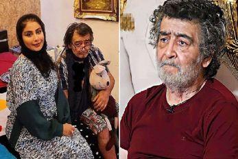 """""""رضا رویگری"""" با حالی باورنکردنی؛ چرا آقا رضای 75 ساله همش عروسک بغلشه؟"""
