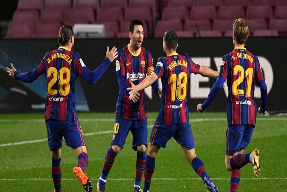 بارسلونا به دنبال اعاده حیثیت مقابل تیم هجدهم جدولی