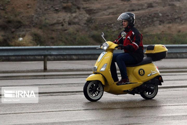 موتورسواری زنان به مناسبت روز قدس + تصاویر