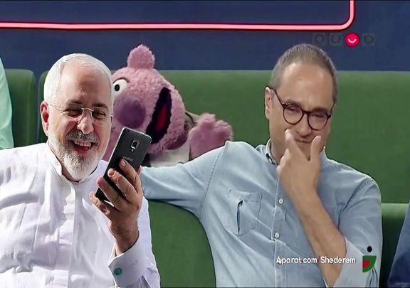 تیکه جناب خان و خندوانه به فایل صوتی لو رفته ظریف