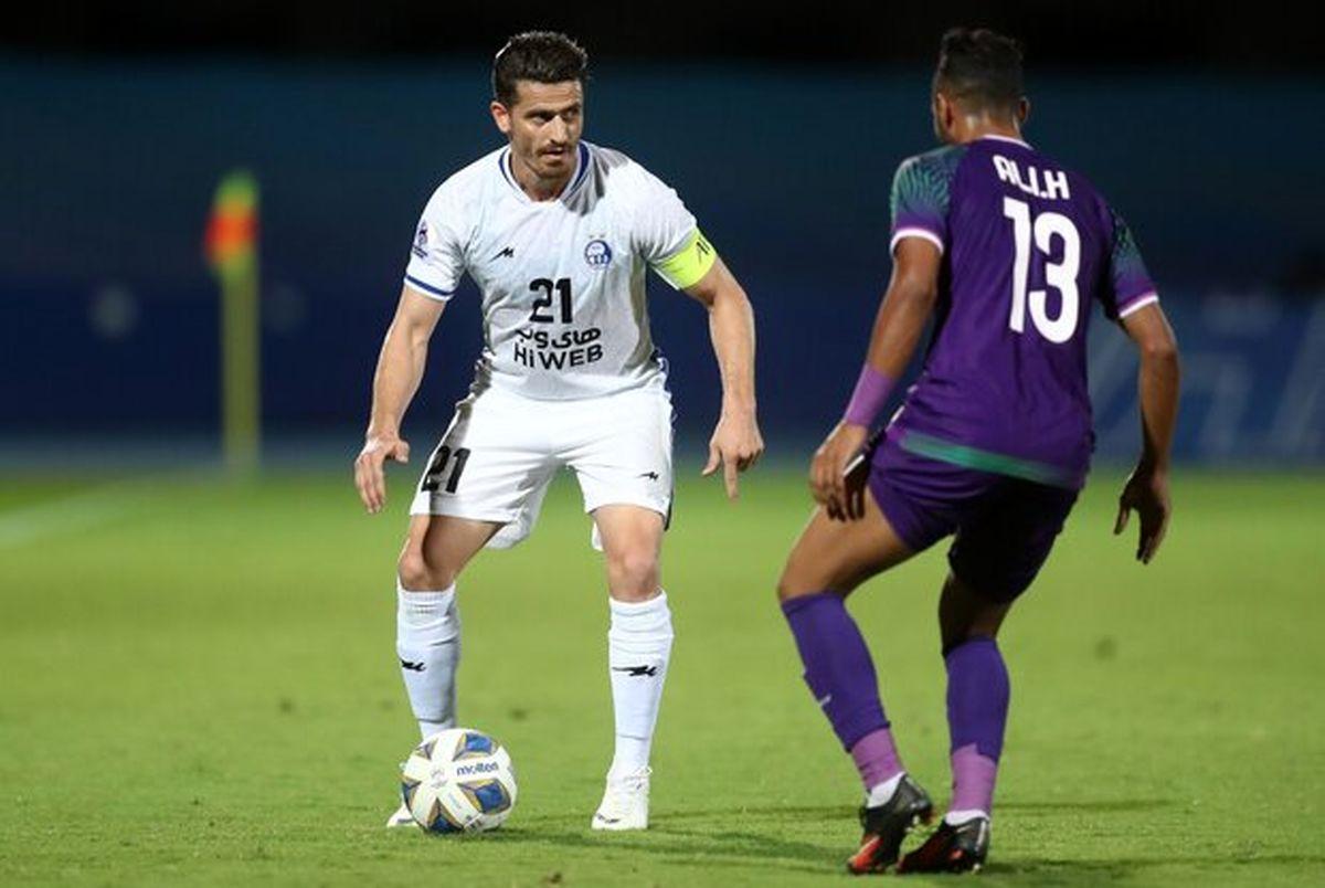 مجری عراقی: سطح فوتبال ما همین است