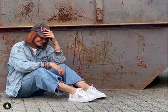 (عکس) مهناز افشار در سطل آشغال آلمانی ها!