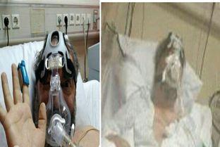 (عکس) آخرین تصاویر از مهرداد میناوند روی تخت بیمارستان