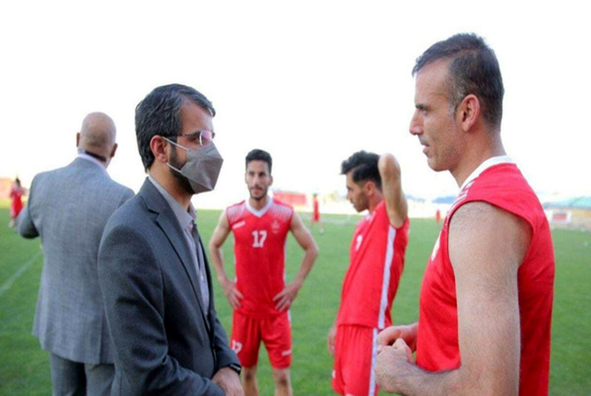 سیدجلال حسینی و جعفر سمیعی