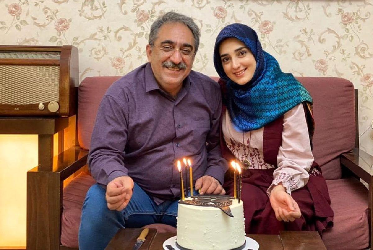 عاشقانه های خانم مجری 35 ساله و همسر 50 ساله اش + عکس