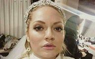 ویدیو مهناز افشار در اتاق خواب با لباس سفید!