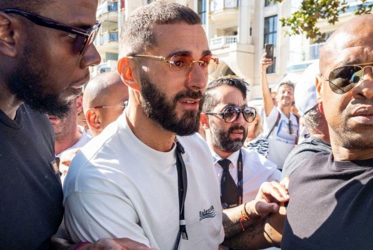 karim benzema Cannes 2021