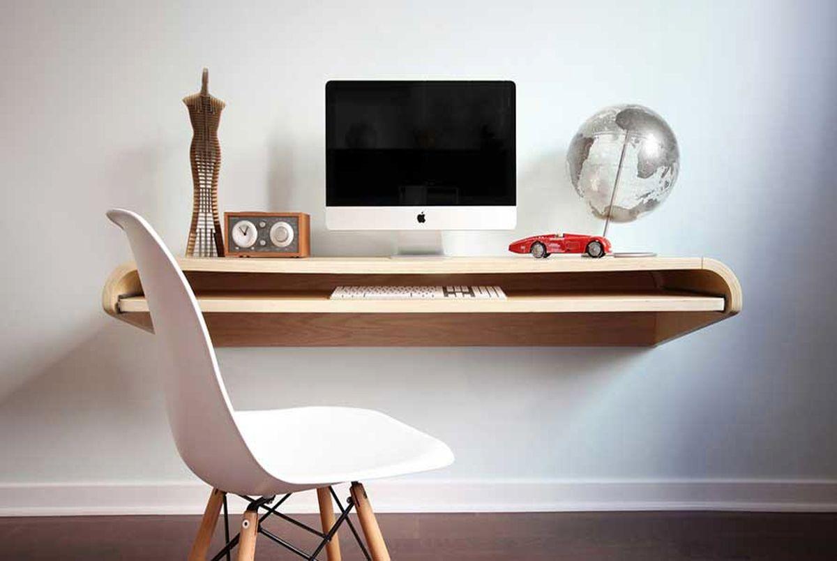 ایده هایی برای میز کار مناسب خانه های کوچک