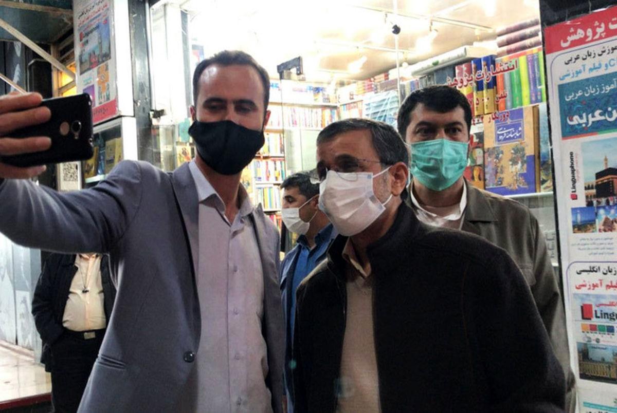 پاسخ تند و تیز احمدینژاد به حداد عادل