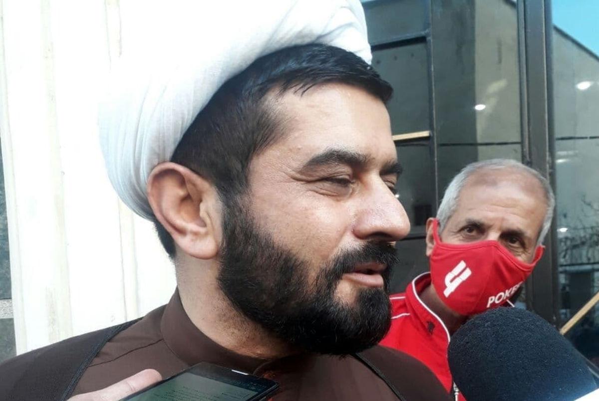 (عکس) یک روحانی نامزد ریاست فدراسیون فوتبال!