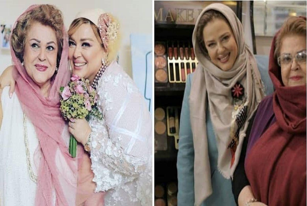 (ویدیو) ماجرا دلبری بهاره رهنما برای مادرش پروین قائم مقامی