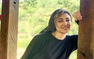 استایل جذاب ویدا جوان بر لب آب!
