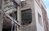 انفجار مهیب ساختمان در اردبیل