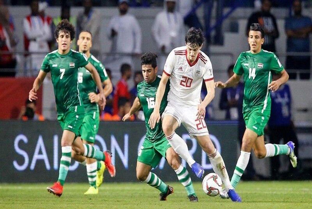 بازی فوتبال ایران و عراق