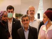 حواشی ادامه دار سفر احمدی نژاد به دبی؛ او فایزر زده است؟!