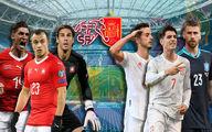 (ویدیو) خلاصه بازی اسپانیا سوئیس یورو 2020 جمعه 11 تیر