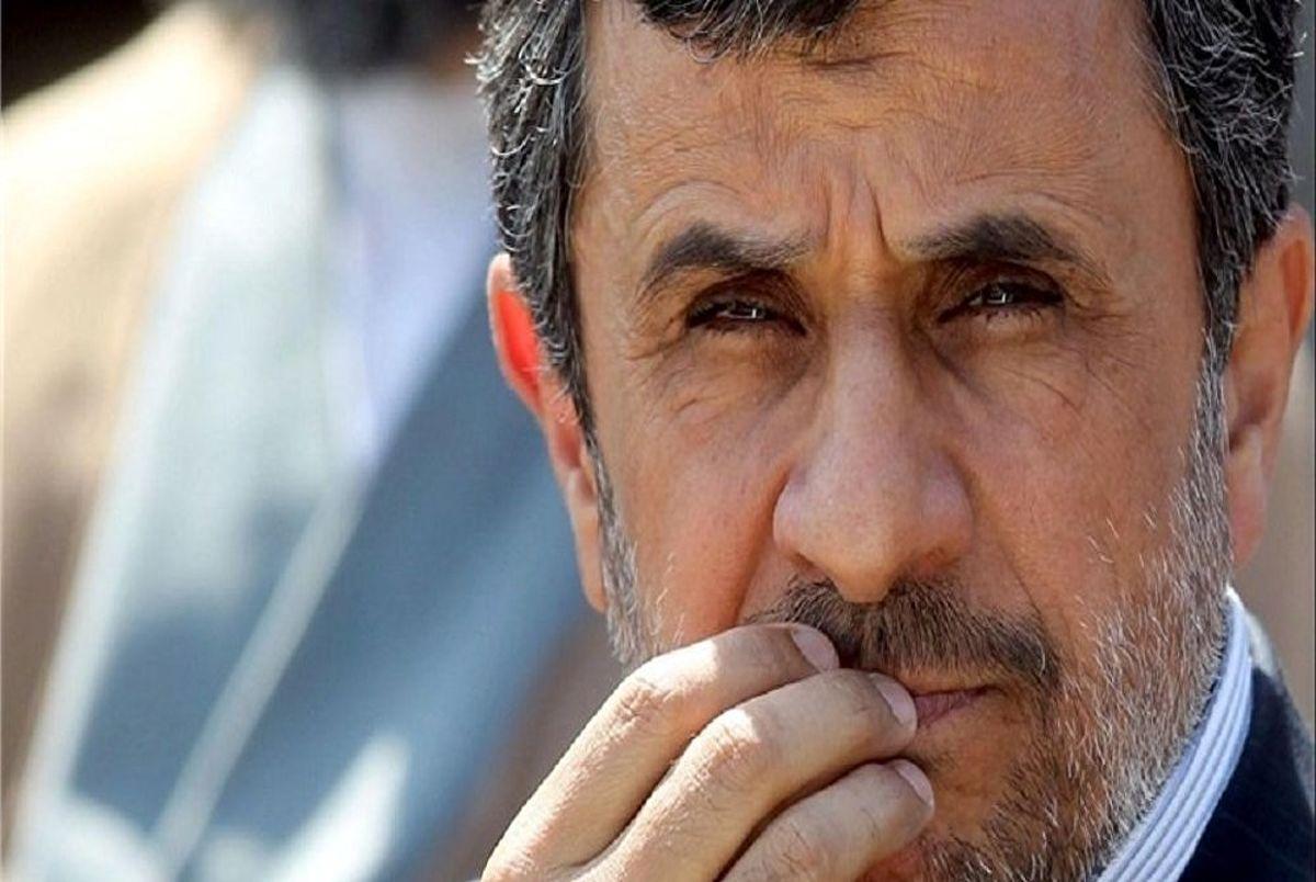 محمود احمدی نژاد بالاخره هاله نور را دید؟