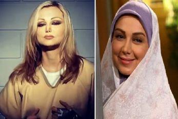 """""""بهنوش بختیاری"""" هم """"کشف حجاب"""" کرد و رفت رو مجله خارجی! +عکس"""
