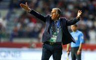 کارلوس کی روش گزینه اول عراق بری انتخابی جام جهانی